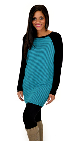 Sporty Spice Tunic, Teal