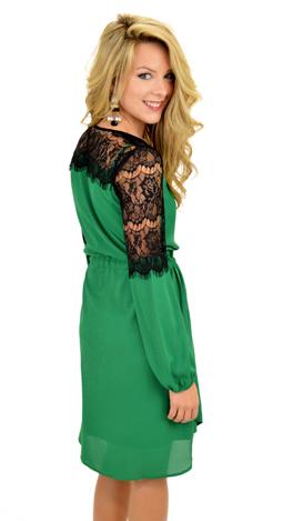 Regina Dress, Green
