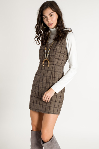 Java Plaid Jumper