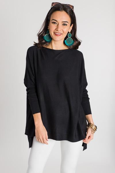 Basic Bliss Sweater, Black