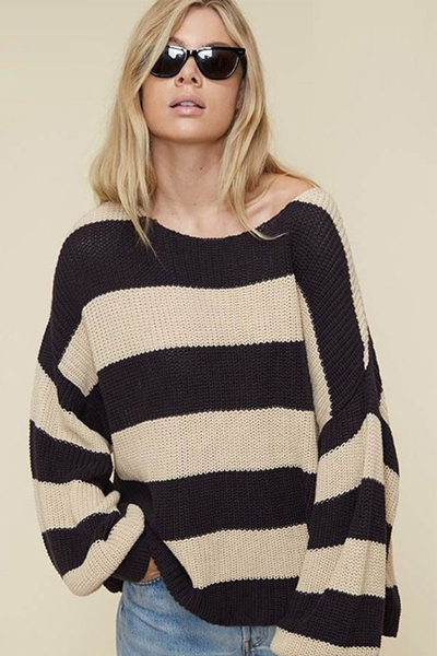Best Striped Sweater