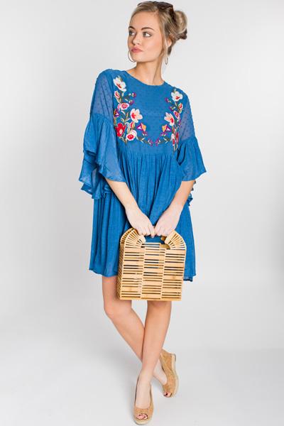 Whimsy Wonderland Dress, Blue