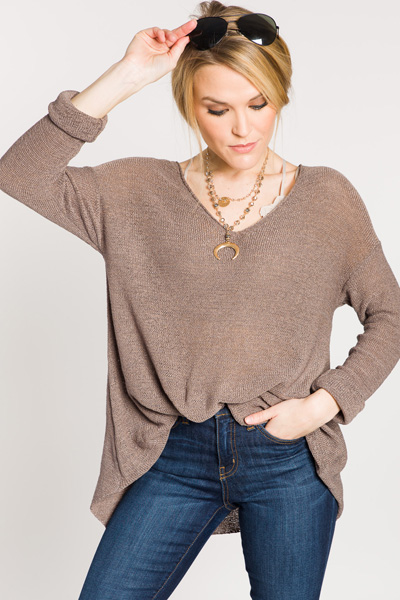 Basic Is Best Knit Sweater