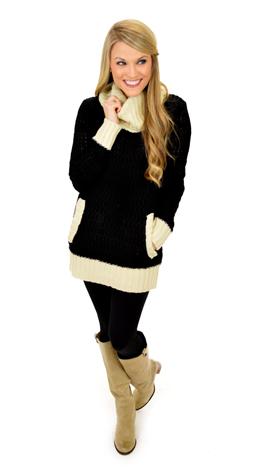 Fade to Black Sweater