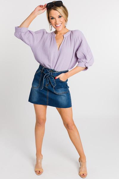 Priyanka Blouse, Lavender