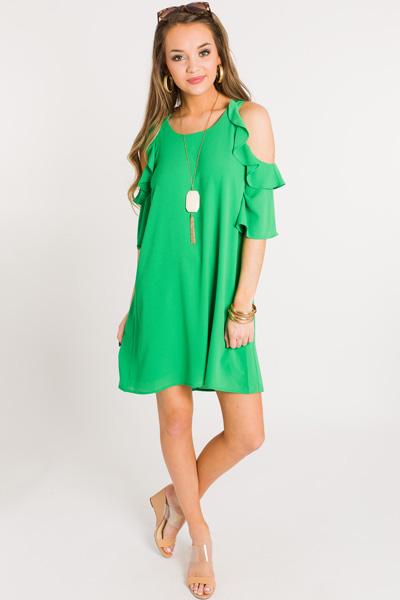 Mckell Dress, Bright Green
