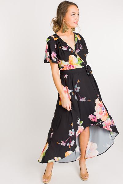 Wrapped in Blooms Maxi