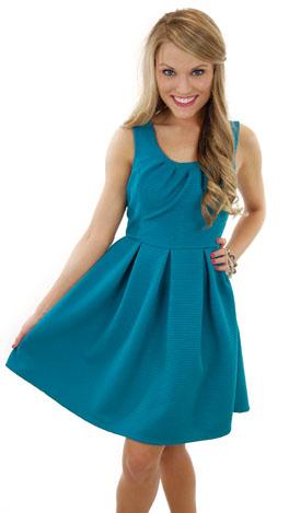 Turquoise & Caicos Dress