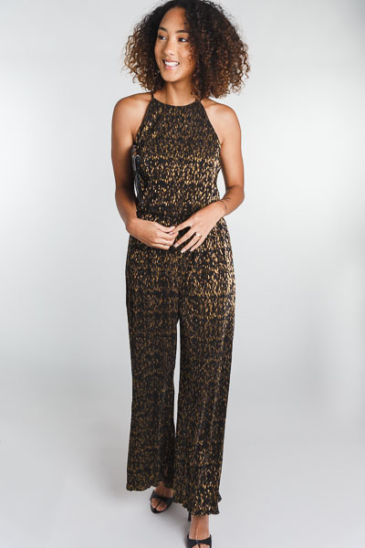 Bronze Specks Jumpsuit