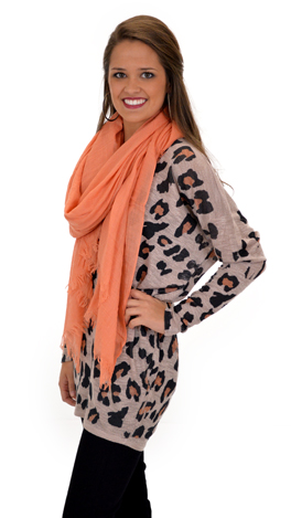 Blotted Leopard top
