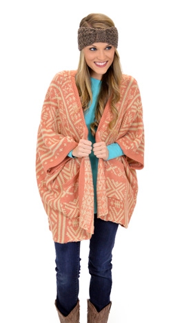 Short and Sweet Cardigan, Apricot