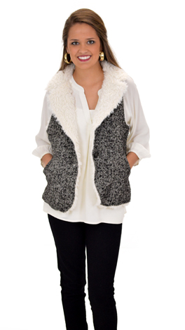 Tweed LA Dee Vest
