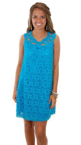 How Sweet It Is Dress, Blue