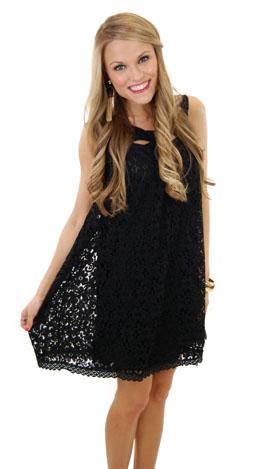 How Sweet It Is Dress, Black