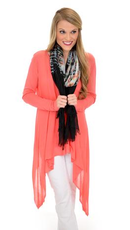 Selma Sweater, coral