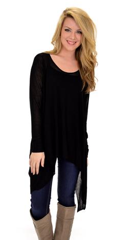 Selma Sweater, Black
