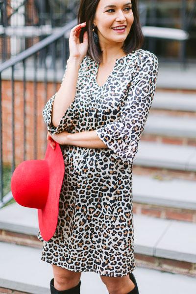 Stretchy Leopard Dress