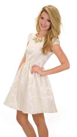 High Society Dress, Ivory