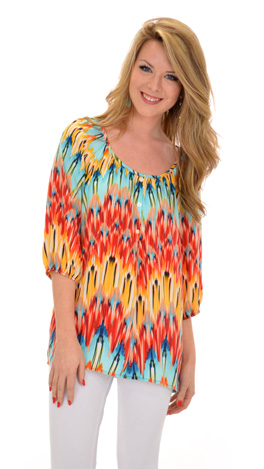 Fire to the Rain Blouse