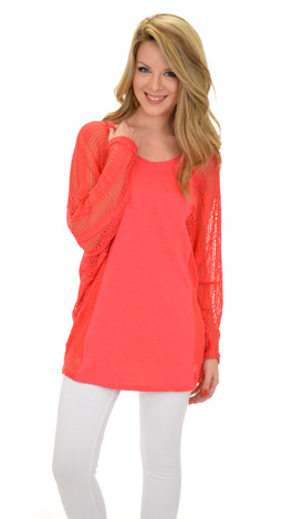 Tee for Two, Coral
