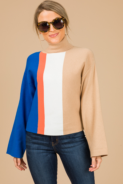 JV Colorblock Sweater