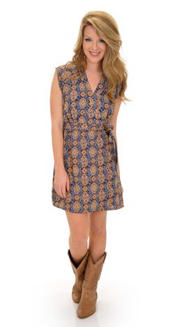 Incan Wrap Dress