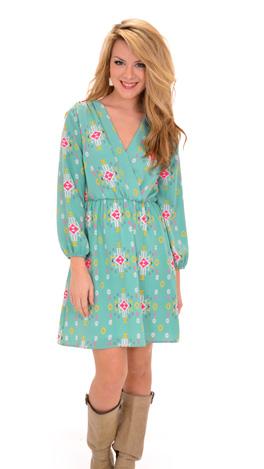 Drop a Mint Dress