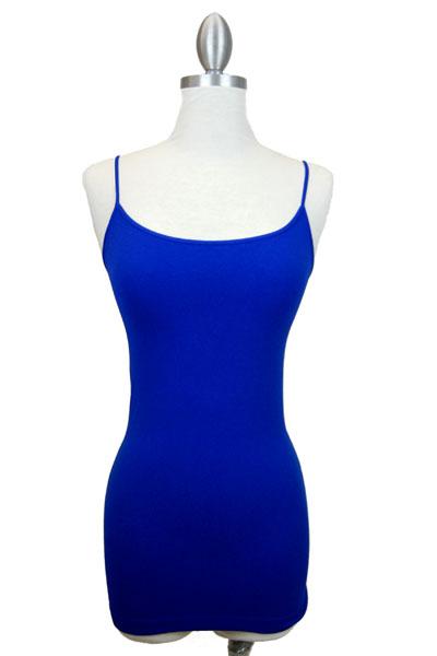 Famous Cami, Cobalt Blue