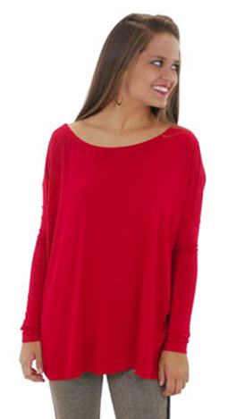 Outside The Box Top, Red