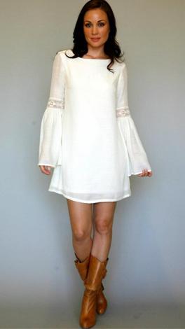 The Sonya Dress, Ivory