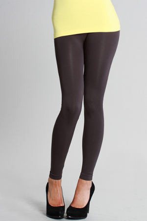 Magic Leggings, Charcoal (Long)