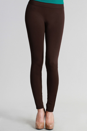 Magic Leggings, Brown (Long)