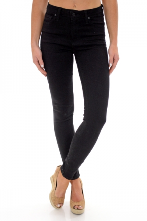 High Rise Black Skinny