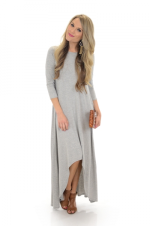 Back in Grey Maxi