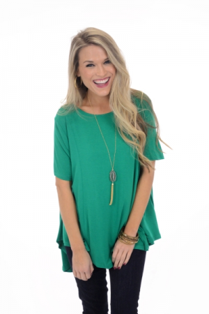 Heaven Scent Top, Green