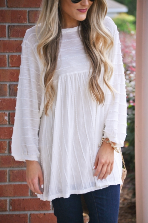 Teagan Textured Top