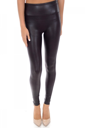 SPANX Leather Legging, Wine
