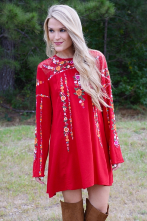 Autumn Song Frock
