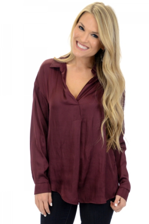 Wine Luster Shirt
