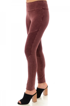 Mineral Moto Leggings, Wine