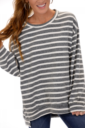Sadie Sweatshirt, Grey