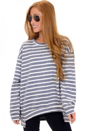 Sadie Sweatshirt, Navy