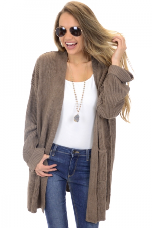 Coffee Shop Cardigan
