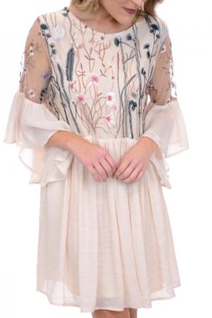 Secret Garden Dress, Ivory