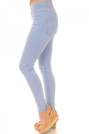 Elyse Denim Leggings, Light Blue