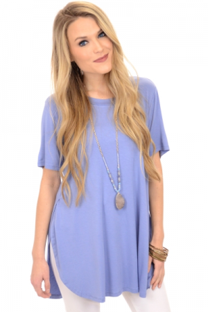 Tucker Jersey Tunic, Blue