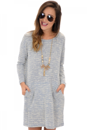 Clea Textured Dress