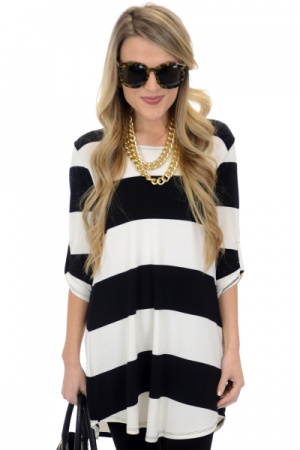 Tech Stripes Tunic