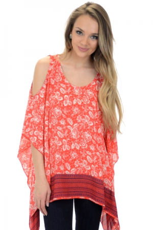 Willow Tunic, Red