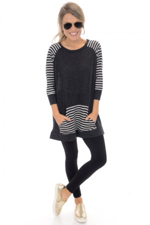 Kanga Striped Tunic